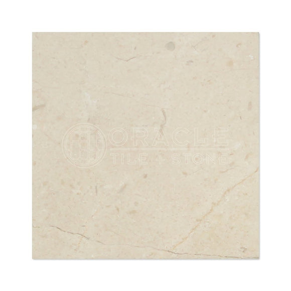 Crema Marfil Spanish Marble 4 X 4 Subway Field Tile, Polished