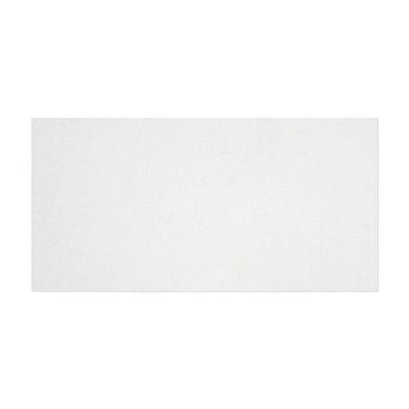 Tilefornia Thassos White 6x12 Subway Tile Polished /Honed