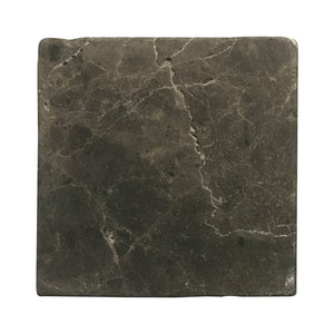 Emparador Dark 6 X 6 Field Tile, Tumbled Lot of - 60 Pcs.