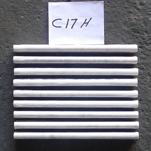 Carrara White Italian Carrera Marble Pencil Liner Trim Molding 5/8 x 12 Polished