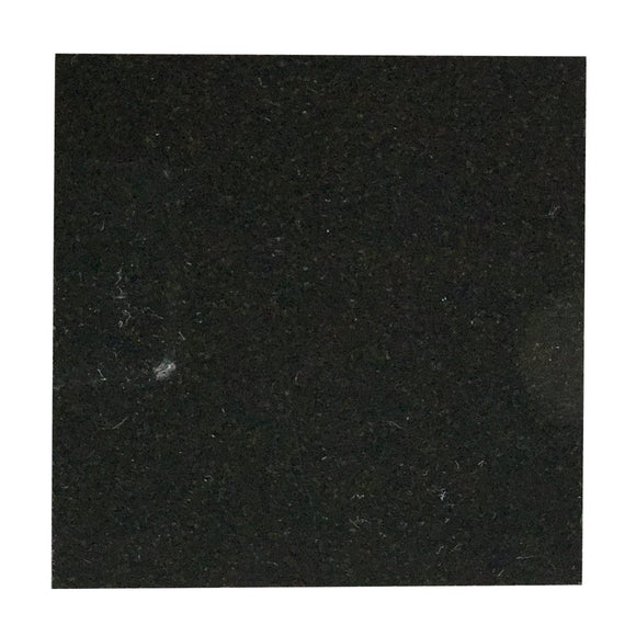 Black Granite 6 X 6 Field Tile, Polish Lot of - 60 Pcs.