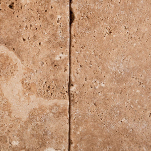 Andean Walnut Peruvian Travertine 4 X 4 Tumbled Field Tile - Lot of 50 sq. ft.