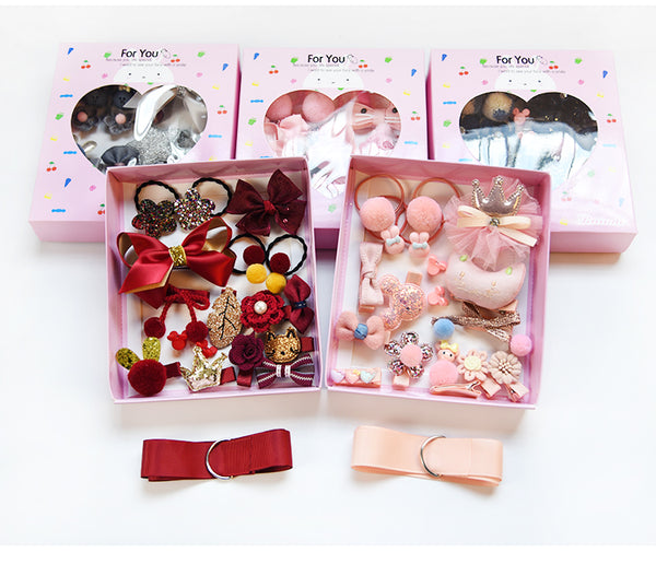 Baby Cute Hair Clips Barrettes Gift Box By my urban shop