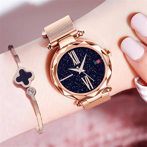 Women's Luxury Sky Diamond Watch