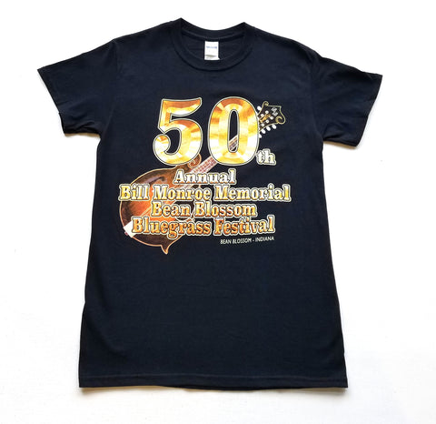 50th annual Bill Monroe Memorial Bean Blossom Bluegrass Festival T-Shirt