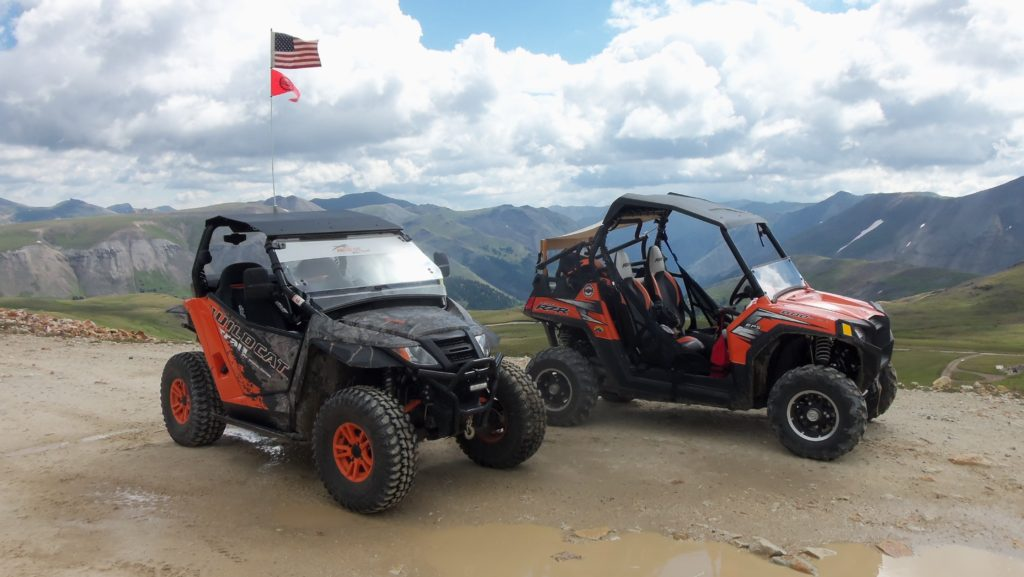 UTVs On The Alpine Loop