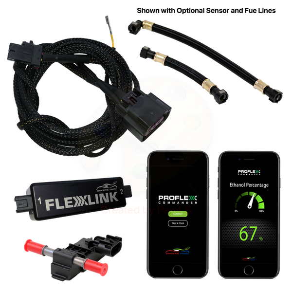 FlexLink flex fuel system for 2014-17 V8 Silverado and Sierra