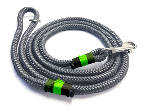 Designed For You - Clip Lead - Charcoal Greens
