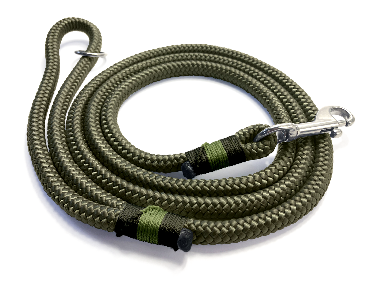 Designed For You - Clip Lead - Military Green Working