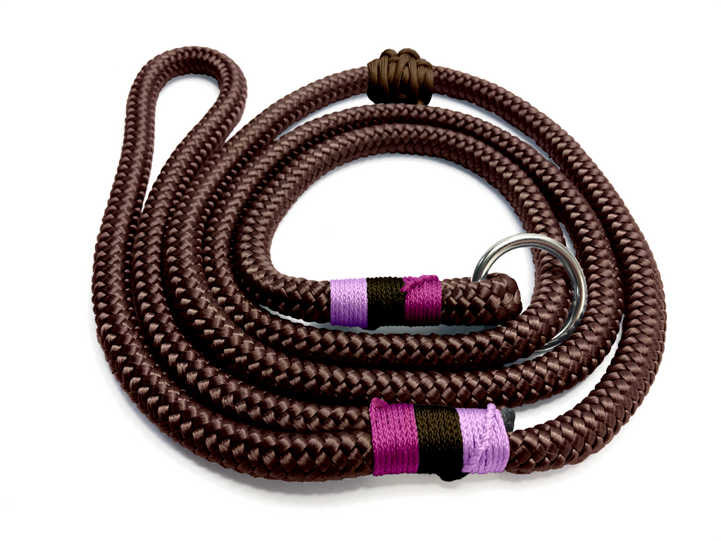 Designed For You - Ring Slip Lead - Chocolate Pinks