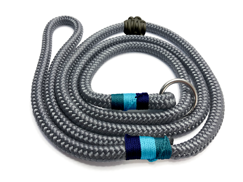 Designed For You - Ring Slip Lead - Charcoal Blues