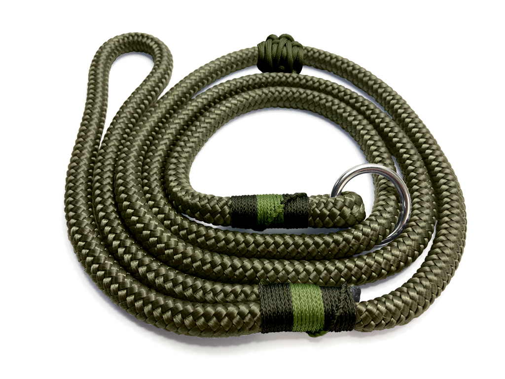 Designed For You - Ring Slip Lead - Military Green Working