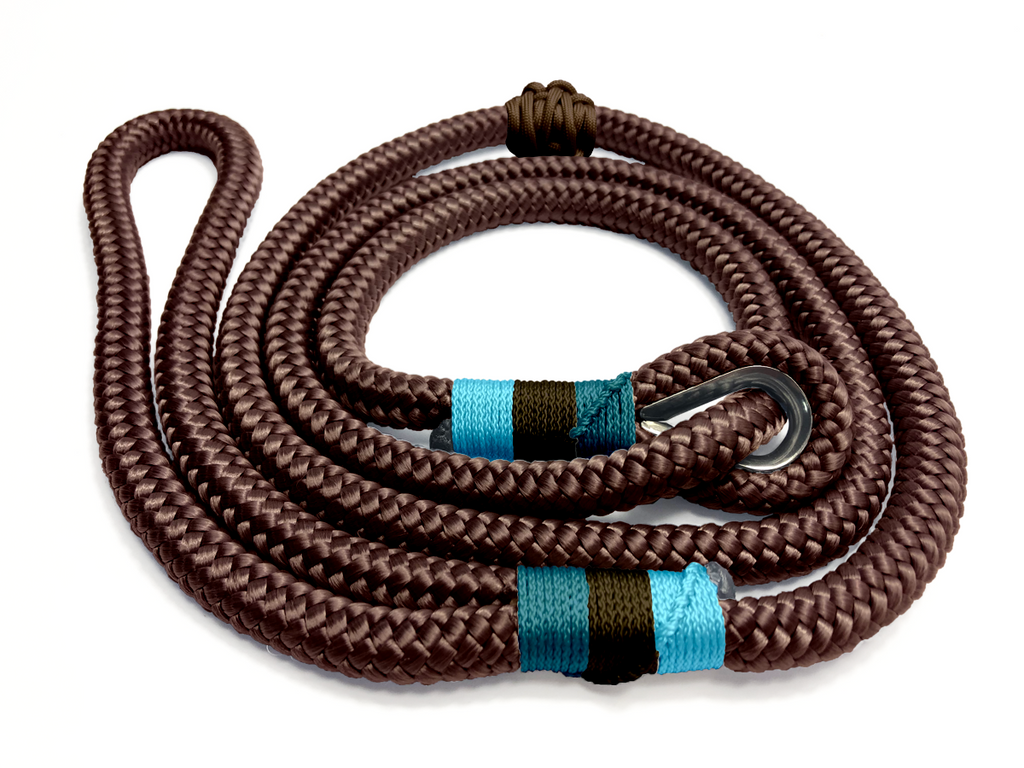 Designed For You - Thimble Slip Lead - Chocolate Blues