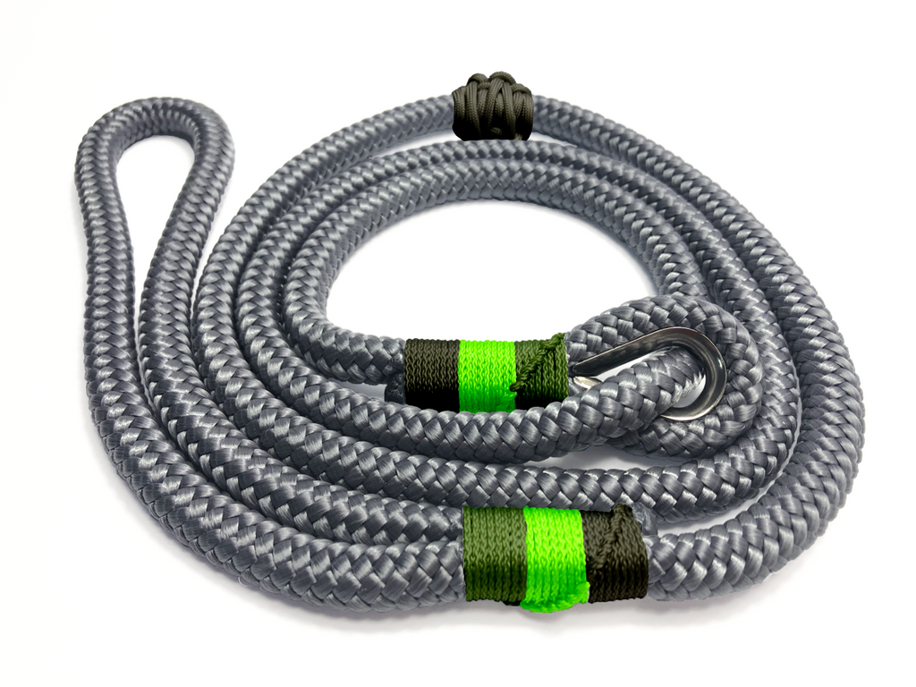 Designed For You - Thimble Slip Lead - Charcoal Greens