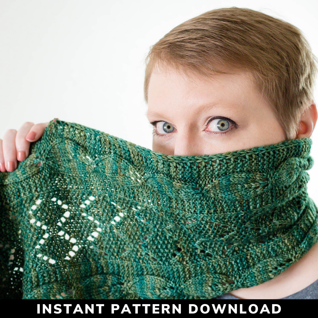 Terra Firma Cowl : Knitting Pattern Download
