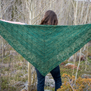 Aspen Roots Shawl : Pattern Download