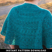 Load image into Gallery viewer, Into The Light Shawl : Pattern Download