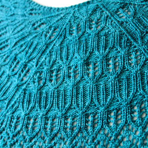 Into The Light Shawl : Pattern Download