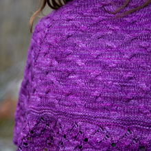 Load image into Gallery viewer, Wildfire Blaze Shawl : Pattern Download