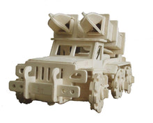 Load image into Gallery viewer, Robotic 3D Wooden Puzzle-Transport