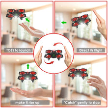 Load image into Gallery viewer, Portable Hand Drone RC Quadcopter