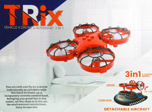 Load image into Gallery viewer, Toy Drone Hovercraft 3-in-1 Drone