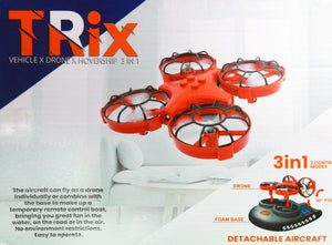 Toy Drone Hovercraft 3-in-1 Drone