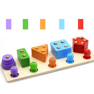 Geometric Magnetic Fishing Montessori Puzzle