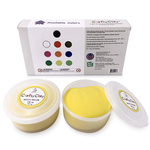 YELLOW Air Dry Art Clay