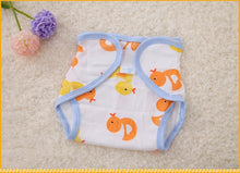 Load image into Gallery viewer, Newborn Cotton Diaper Pants Baby Training Diaper Repeated Washing Adjustable Breathable Diaper Cover Mama's Helper