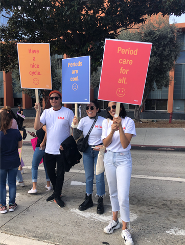 MIA team at Women's March 2020