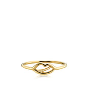 The Kiss - Ring Guld