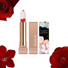 Load image into Gallery viewer, Glamfox Fleurissant Lip Glow GL04 Rose Flower