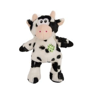 Pets at Home Patch Cow Dog Toy