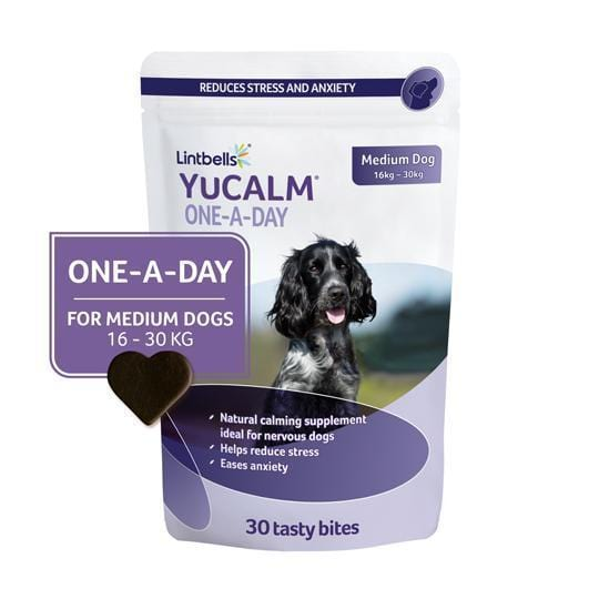 YuCALM One-A-Day Medium 30's Front of pack