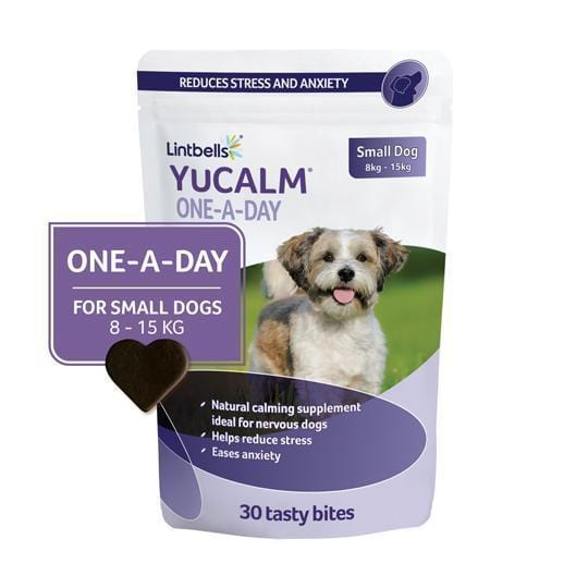 YuCALM Chewies Small 30's Front of pack