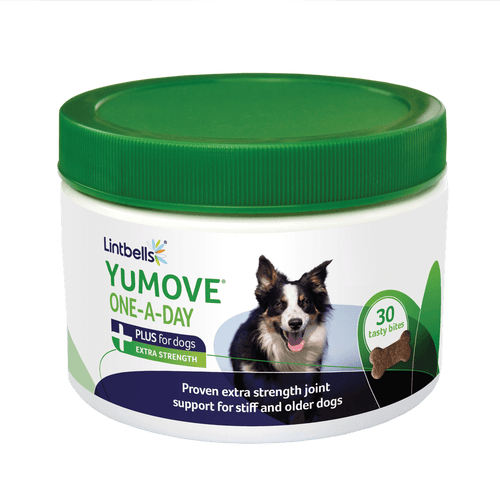 YuMOVE PLUS for Dogs One-A-Day Front of tub