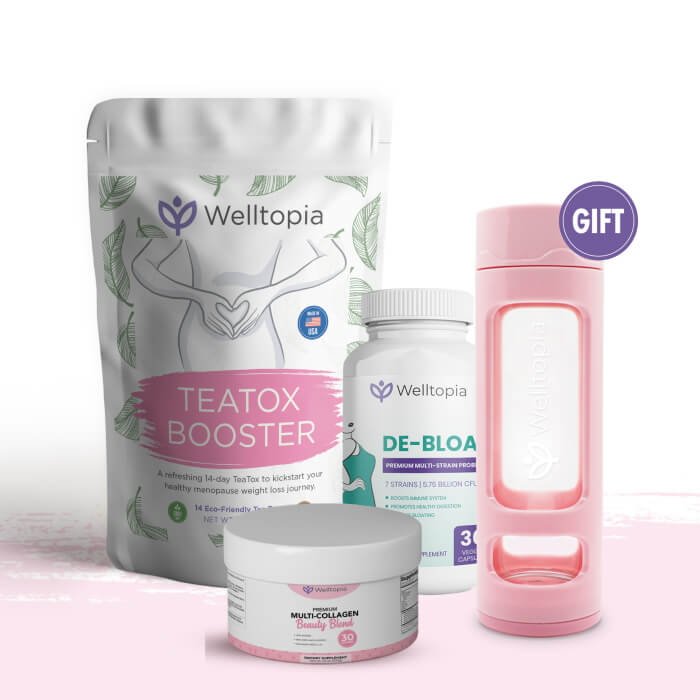 LIMITED TIME OFFER: 1 MORE Welltopia's Summer Detox Bundle