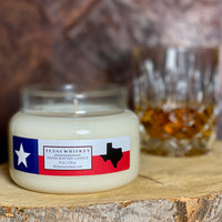Texas Whiskey Candle