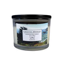 Load image into Gallery viewer, Coastal Breeze 10 oz glass candle - Big Sur, CA