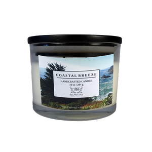 Coastal Breeze 10 oz glass candle - Big Sur, CA