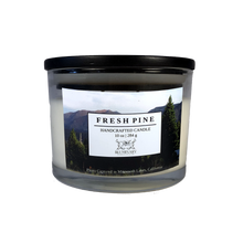 Load image into Gallery viewer, fresh pine 10 oz glass Mammoth California  candle