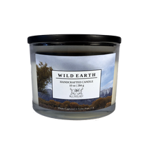 Load image into Gallery viewer, Wild Earth candle product shot 10 oz glass Lone Pine Alabama Hills CA