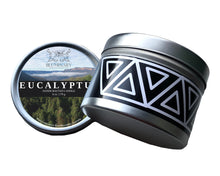 Load image into Gallery viewer, Eucalyptus Candle tin product shot