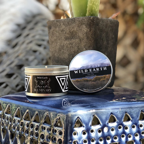 Wild Earth candle product shot