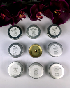 Tea light Sample Variety Pack Travel