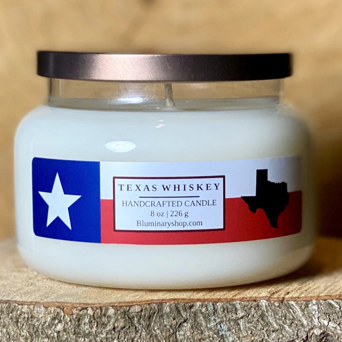 Texas Whiskey 9 oz Candle