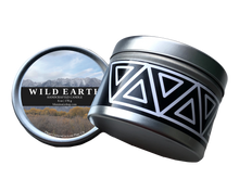 Load image into Gallery viewer, Wild Earth candle product shot 8 oz