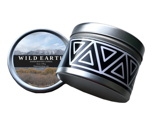 Wild Earth candle product shot 8 oz