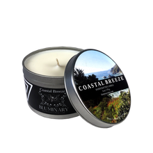 Load image into Gallery viewer, Coastal Breeze 6 oz tin candle - Big Sur, CA